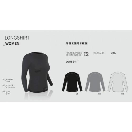 Merino marškinėliai moterims