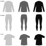 Merino marškinėliai vyrams