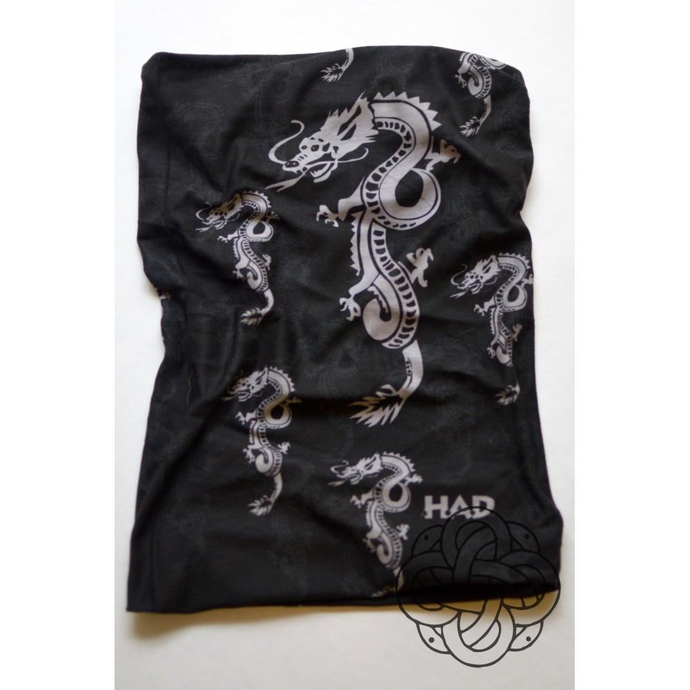 Chinese Dragon black kaklaskarė