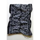 Paisley Flower black kaklaskarė