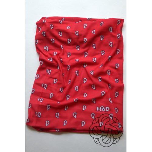Paisley art red kaklaskarė