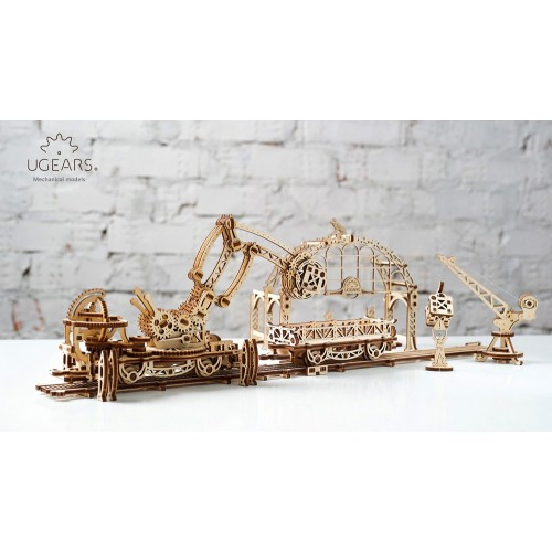 ugears-rail-mounted-manipulator-model
